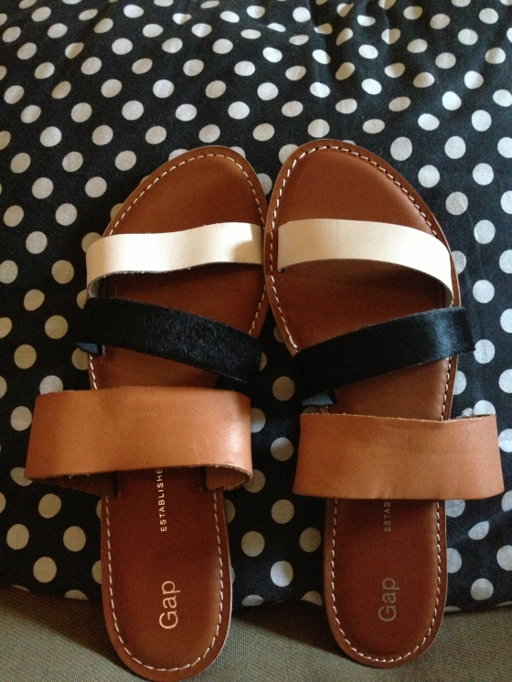 new sandals from GAP